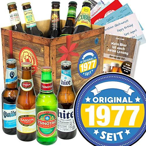 Original 1977 / Biersorten aus aller Welt/Geburtstagsgeschenk Partner