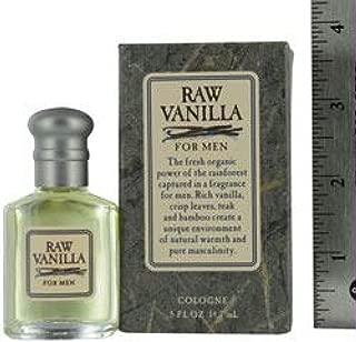 Raw Vanilla By Coty Mens Cologne .5 Oz Mini