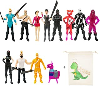 12pcs Fortnight PVC Action Figure Toys Cartoon Toys Model Characters Dolls Gift For Teens Adults Kid