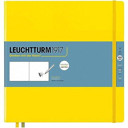 Leuchtturm1917 - Square Hardcover Sketchbook (Lemon) - 112 Pages of 150g/m² Paper