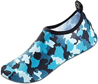 Moffo Mens Womens Barefoot Water Shoes Quick Dry Yoga Socks Swim Diving Yoga Surf Aqua Sports Pool Beach Walking