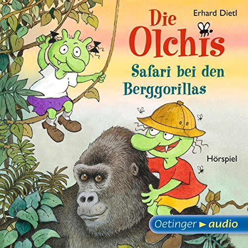 Safari bei den Berggorillas audiobook cover art