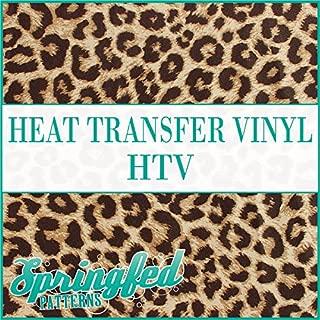 LEOPARD SPOTS PATTERN #1 HTV Heat Transfer Vinyl 12