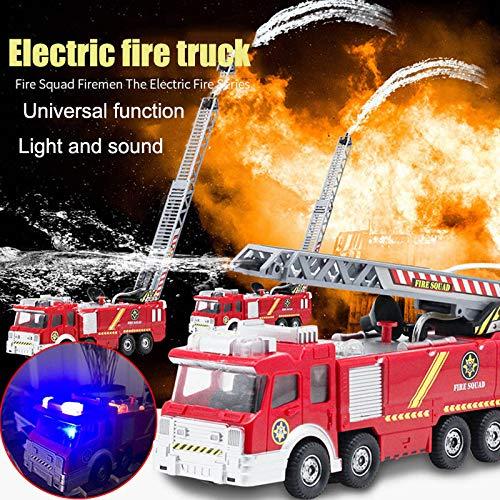 Fire Engine TEAMSTERZ DIE CAST d/'urgence Jouet Enfants Camion Véhicule Light /& Sound