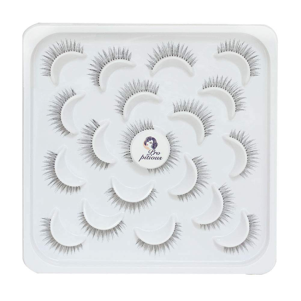 Eyelashes Popular products Natural Look 10 Limited time trial price Pairs Lashes Handmade Fa False