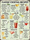 empireposter Cocktails - Classic Recipes Alkohol