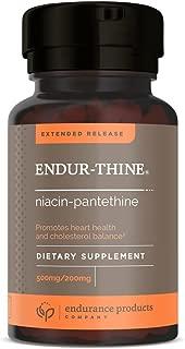 ENDUR-Thine 500mg Niacin/200mg Pantethine, 90 Tab