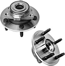 Front Wheel Hub and Bearing Assembly Left or Right Compatible 2002-2008 Dodge Ram 1500 AUQDD 515072 x2 (Pair) [ 5 Lug 2-Wheel ABS ] NO-ABS