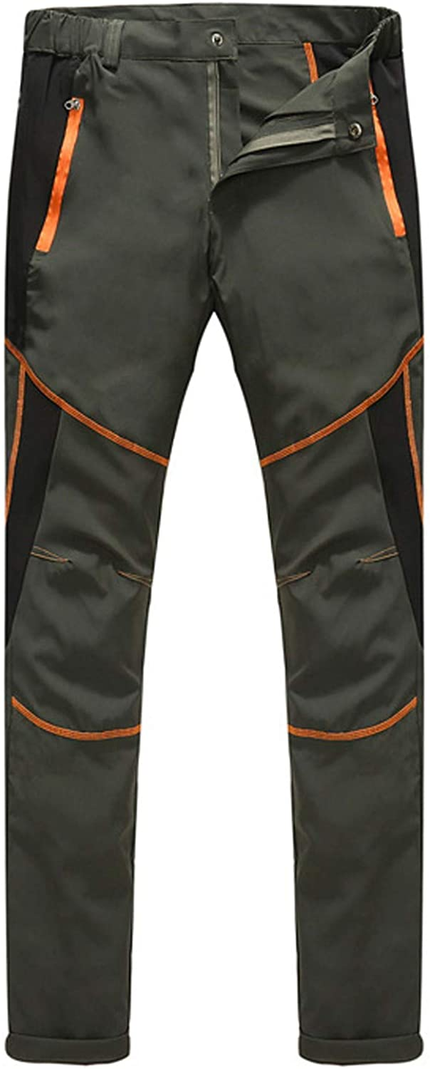 Cargo Pants for Mens Casual Waterproof Windproof Outdoor Hiking Sweatpants Quicky Dry Lightweight Long Pants Womens