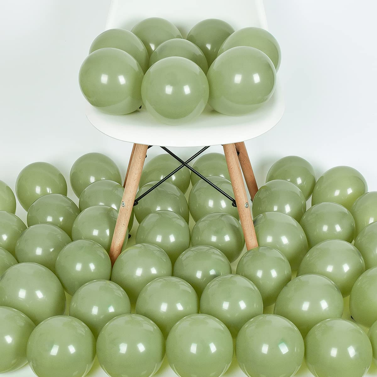 100 Pcs 5 Inch price Sage Latex fo Max 83% OFF Green Balloons