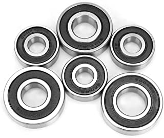 Sponsored Ad - Gearbox Bearing Kit, 6PCS Transmission Gearbox Bearing Set for GY6 50/80cc Scooter Repair Accessory