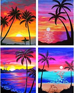 4 Pack 5D DIY Diamond Painting Kits Full Drill Diamond Painting Wall Decor Rhinestone Embroidery 11.8x15.7in 1 Pack by Bemall