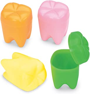 Rainbow Tooth Holders - 72 per pack
