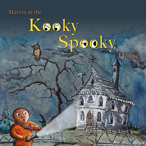 Marvin in the Kooky Spooky House audiobook cover art