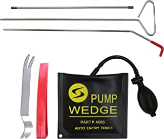 SUNTUE Car Kit with Long Reach Grabber,Air Pump Bag,Non Marring Wedge,Professional Tools for Cars and Trucks