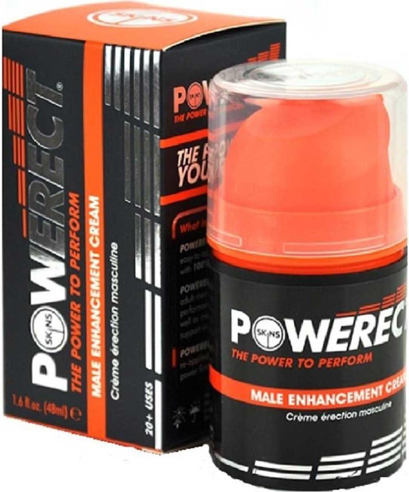 latest Skins Powerect Cream 48ml Enlargement Pump Max 45% OFF Erectile Enhancement