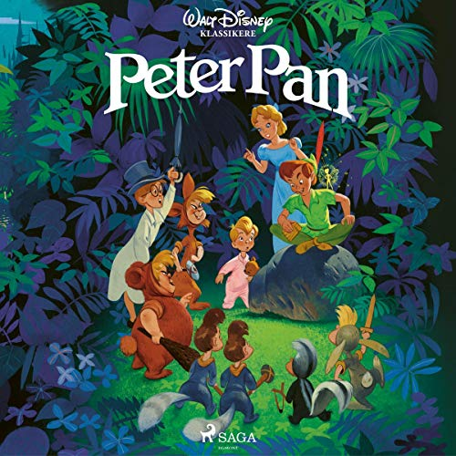 Couverture de Peter Pan (Danish Version)
