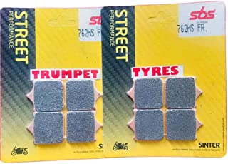 Fit For Triumph//Fit For Street Triple 675 2008-2012 Fit For Tiger 800 Xc Xca Xrx Xr Xrt Front Rear Brake Disc Pads Set Kit LSZXYL