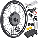 "36V 500W 26"" Front Wheel Electric Bicycle Motor Conversion Kit E-Bike Cycling Hub"
