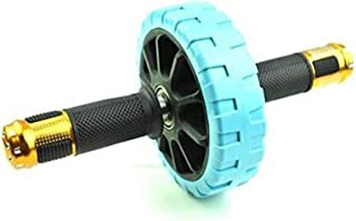 YUNQI AB Roller Hjul, Gummi Art Enkel Rad Home Gym Coaster Pull Midja Avlägsnande Tränare för Män Kvinnor