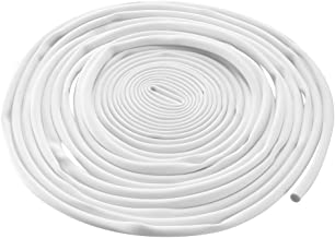 uxcell PVC Marking Tube Sleeving White Wire Sleeve Pipe Organizer 2.5mm Inner Dia 8M Length for Cable Marker Machine