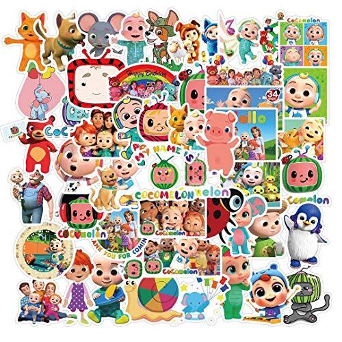 JZLMF 50 piezas Inglés Inglés Inglés Infantiles para ordenador, teléfono móvil, portátil, equipaje, equipaje, creativo, personalidad, pegatinas impermeables