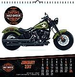 Trends International 2017 Art Wall Calendar, September 2016 - December 2017, 12' x 12', Harley-Davidson