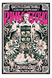 Pink Floyd - Games For May Queen Elizabeth Hall 1967 Poster