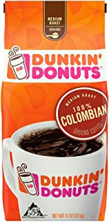 Dunkin' Donuts Ground Coffee, Colombian 11oz
