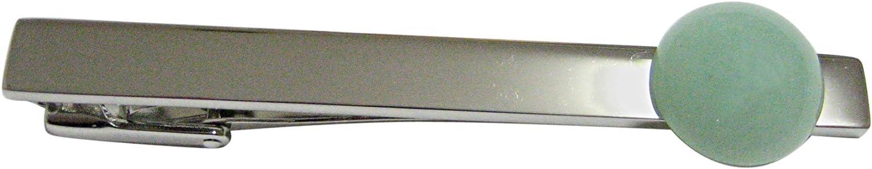 Kiola Designs Green Aventurine Gemstone Tie Clip