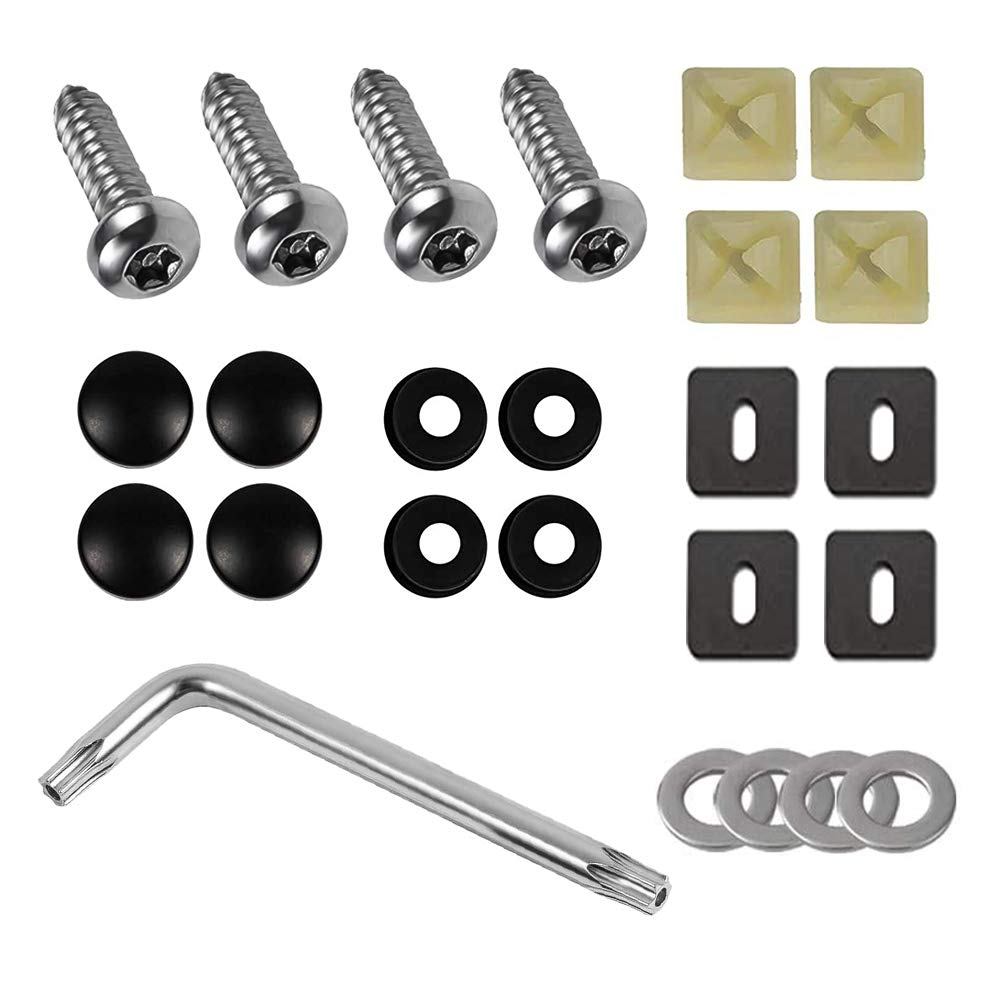 Anti Theft License Plate Screws-Stainless Proof Fro Super-cheap Now on sale Steel Tamper