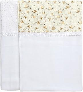 Toalha De Fralda Compose, Papi Textil, Amarelo