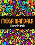 Mega Mandala Example Book (English Edition)