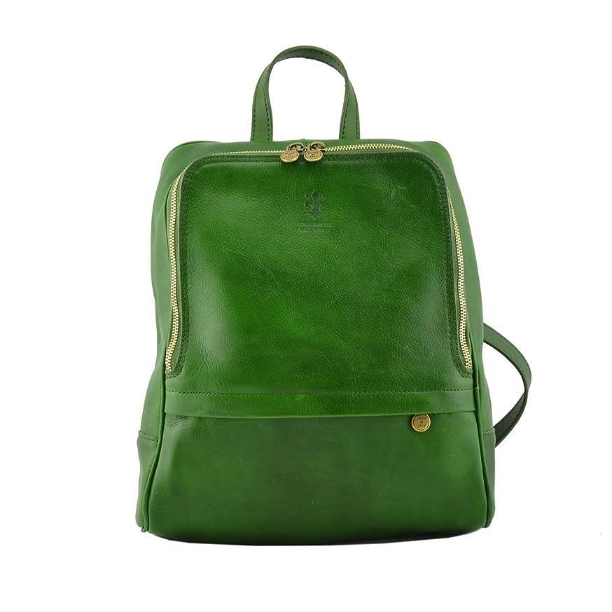 マッシュ平和対応するDream Leather Bags Made in Italy Genuine Leather メンズ US サイズ: 1 カラー: グリーン