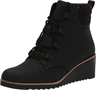 LifeStride Women's Zone Ankle Boot, Black, 8.5 Wide