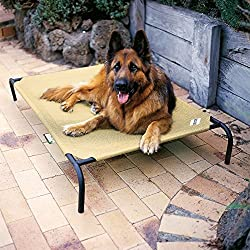 Coolaroo Elevated Pet Bed - best dog beds for german shepherds