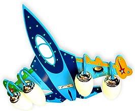 Kinderlampe Schlafzimmerlampe Led Deckenlampe Kreative Flugzeuge Kinderzimmerlampe Minimalistische Jungen Und M/ädchen Cartoon Lampe Rc Ver/änderbar