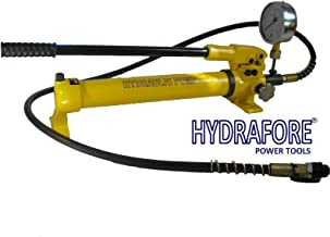 Hydraulic Hand Pump - Two Speed - with Pressure Gauge (10000 psi-43 in3) B-700B