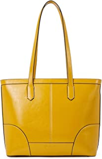 BOSTANTEN Women Leather Handbag Designer Tote Shoulder Purses Top-handle Bag