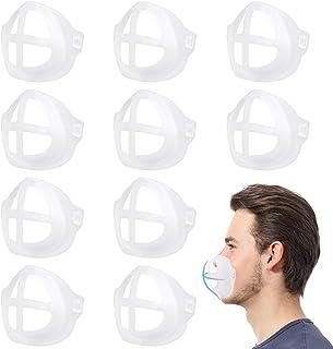 Mask Inner Support Frame, 3D Mask Bracket LACE INN Mask Support 3D Bracket for Comfortable Mask Wearing (Adults 10PCS)