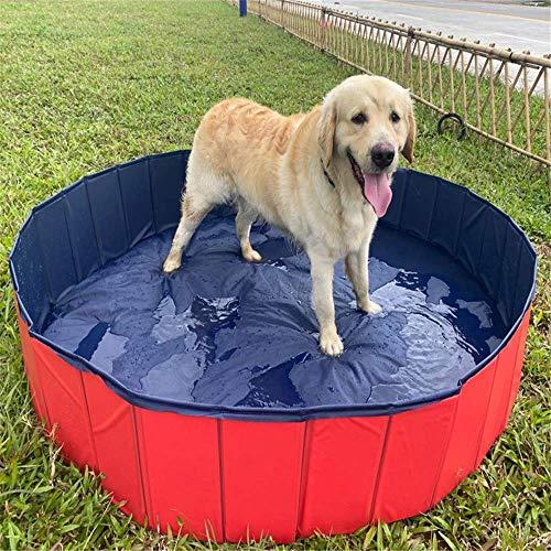 AGG Pet Dog Pool PVC Folding Bathtub Pet Supplies Grooming Cleaning Dog Swimming Pool Water Toys