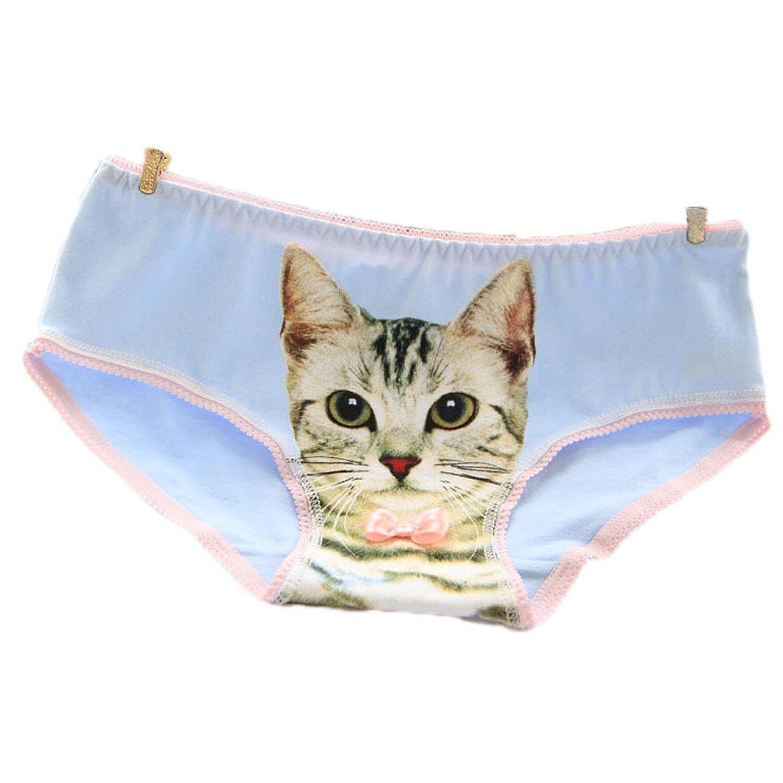 可愛いショーツ ローライズ 猫 レディース 美尻 インナー 肌着 ひびかない 綿素材 ノンストレス ヌーディー ショーツ