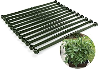 GREENWISH 36pcs Stake Arms for Tomato Cage, 11.8 Inches Expandable Trellis Connectors for Any 11mm Diameter Plant Stakes, Adjustable for Climbing Plants, Vegetables, Flowers, Fruits, Vine (36)
