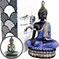 """25DOL Buddha Statues for Home. 13"""" Buddha Statue (The Moment of Enlightenment). Collectibles and Figurines, Meditation Decor, Spiritual Living Room Decor, Yoga Zen Decor, Hindu and East Asian Décor"""