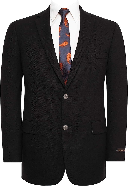 QSYJ Men's Stretch Classic Fit Blazer Sport Coat Suit Jacket
