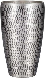 新光金属 タンブラー 錫被仕上げ 大 550ml 純銅錫被仕上げ 鎚目S型タンブラー SI-103SN