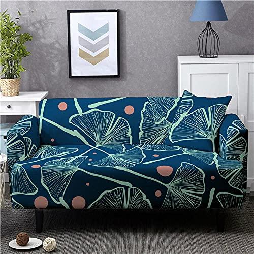 Fundas Sofas 3 y 2 Plazas Ajustables Rosa Verde Esmeralda Azul Marino Fundas para Sofa Elasticas Spandex Fundas Sofa Lavables Desmontables Funda Sillon Modernas Universal Espesas Fundas de Sofa
