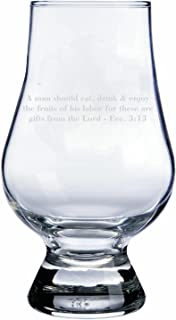 Fruits Of Labor Quote Glencairn Whisky Glass