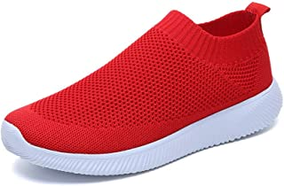 SKLT Slip On Sneakers Women Running Shoes Breathable Mesh Sock Shoes Ultra Light Loafers Fitness Outdoor Sport Shoes Laides Trainers