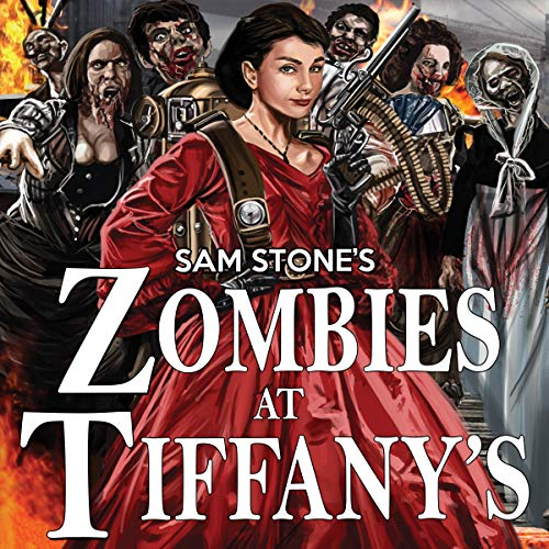 Zombies at Tiffany's audiobook cover art